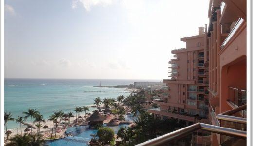 【カンクン】ホテル立地と眺望|グランドフィエスタアメリカーナコーラルビーチリゾート7階お部屋からの眺め