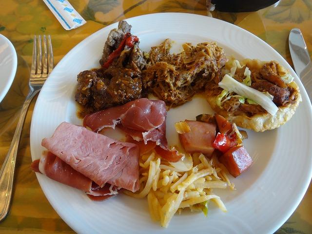 フィエスタアメリカーナグランドコーラルビーチの朝食ビュッフェ16