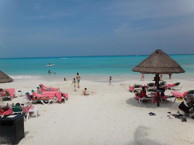 フィエスタ アメリカーナ グランド コーラル ビーチのプライベートビーチ