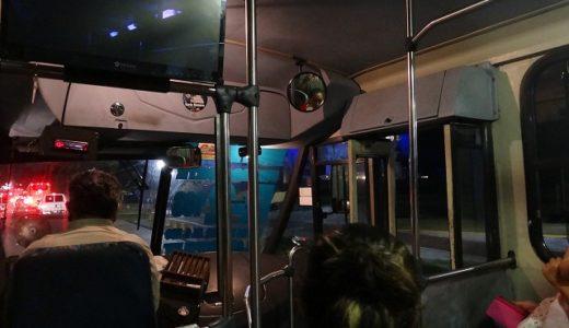 カンクンホテルゾーン|路線バスは停留所で待っていれば誰でも乗れる
