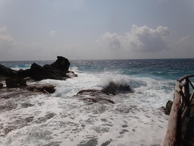 イスラ・ムヘーレス島ブンタ・スールの海はキレイ