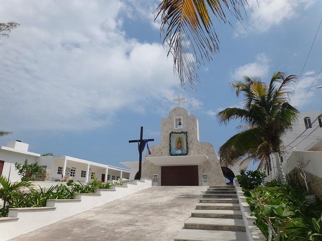 イスラ・ムヘーレス島の教会