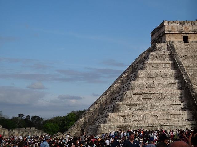 チチェン・イツァ遺跡ピラミッド9
