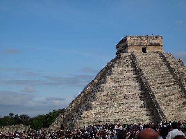 チチェン・イツァ遺跡ピラミッド10