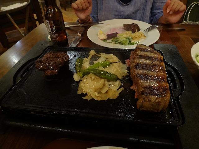 カンバラッチェのステーキ