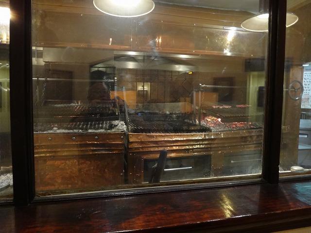 カンバラッチェステーキ焼き場