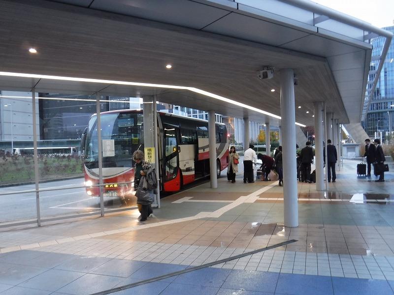 小松空港リムジンバス金沢駅西口下り場