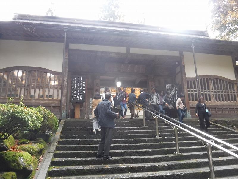 永平寺観光 通用門入り口