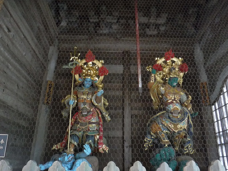 永平寺を守護する像02