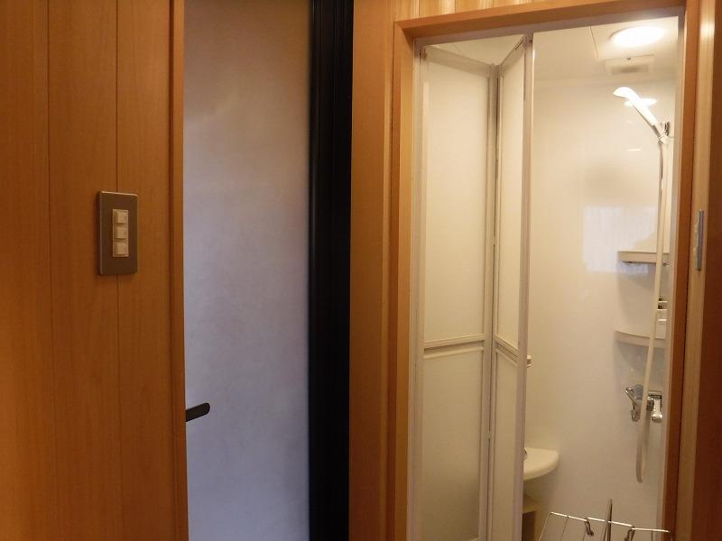 【山代温泉】たちばな四季亭客室露天風呂プランの露天風呂入り口