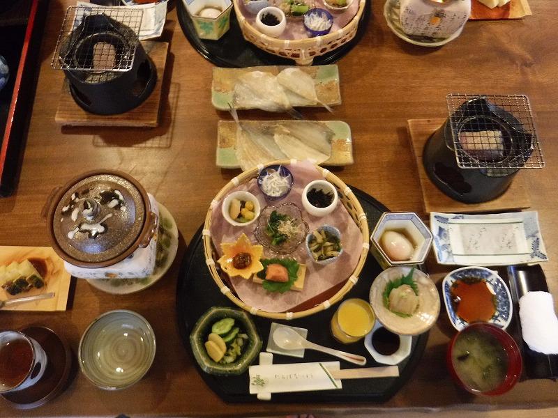 加賀温泉たちばな四季亭朝食写真01