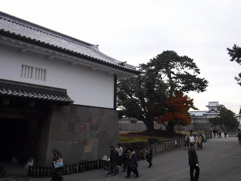 金沢城跡石川門