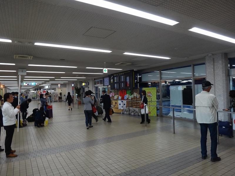 大分空港到着ロビー写真01