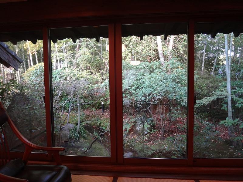 ゆふいん山荘わらび野「青林」お部屋からの眺め