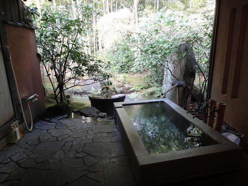 ゆふいん山荘わらび野「青林」お部屋の露天風呂