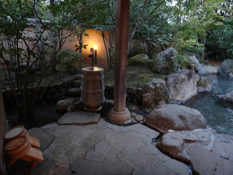 ゆふいん山荘わらび野 離れの露天風呂06