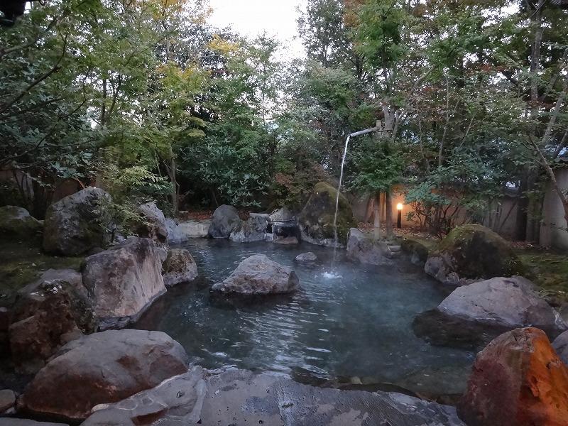 ゆふいん山荘わらび野 離れの露天風呂01