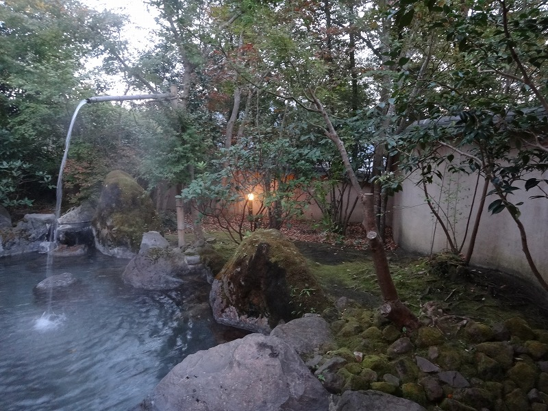 ゆふいん山荘わらび野 離れの露天風呂02