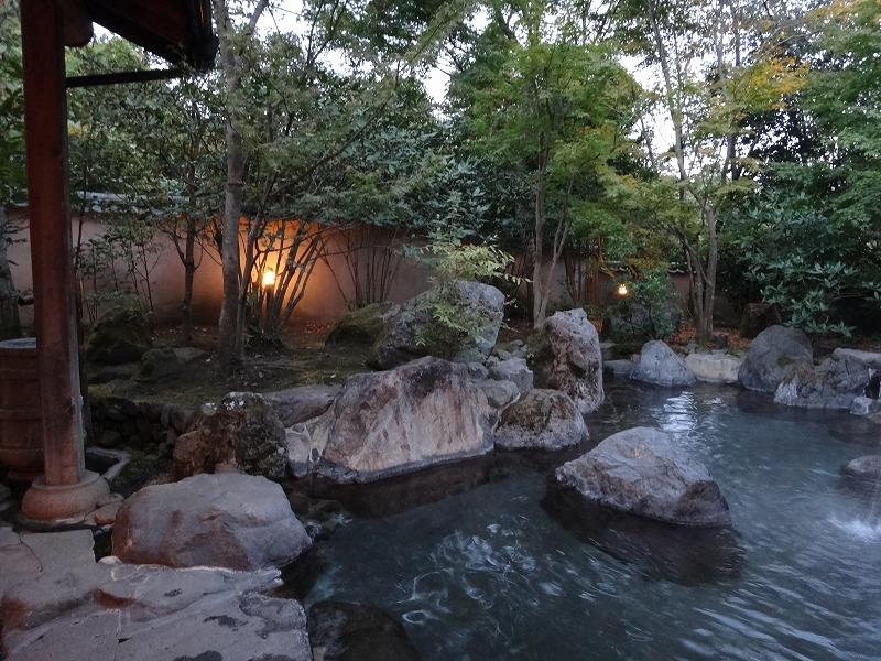 ゆふいん山荘わらび野 離れの露天風呂03