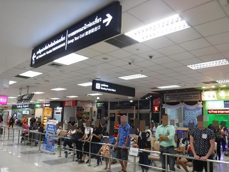 タイ・チェンマイ国際空港出口