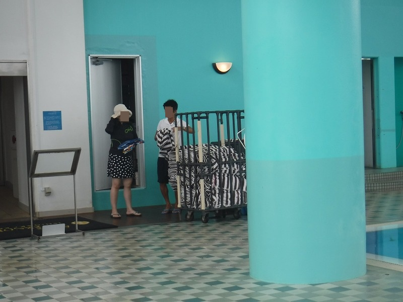 ANAインターコンチネンタル石垣リゾートのバスタオル貸し出し処