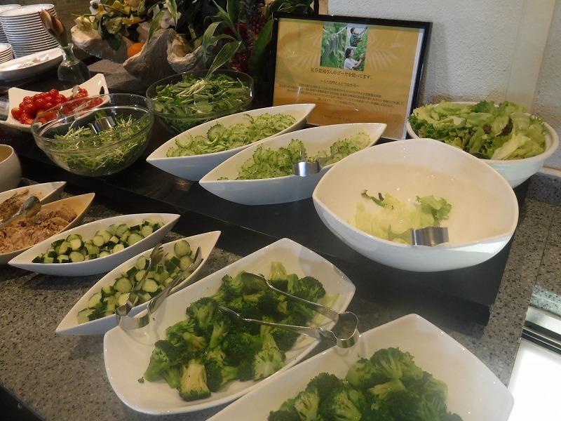 石垣島インターコンチネンタル石垣リゾートの朝食洋食ブッフェのサンコーストカフェ会場11