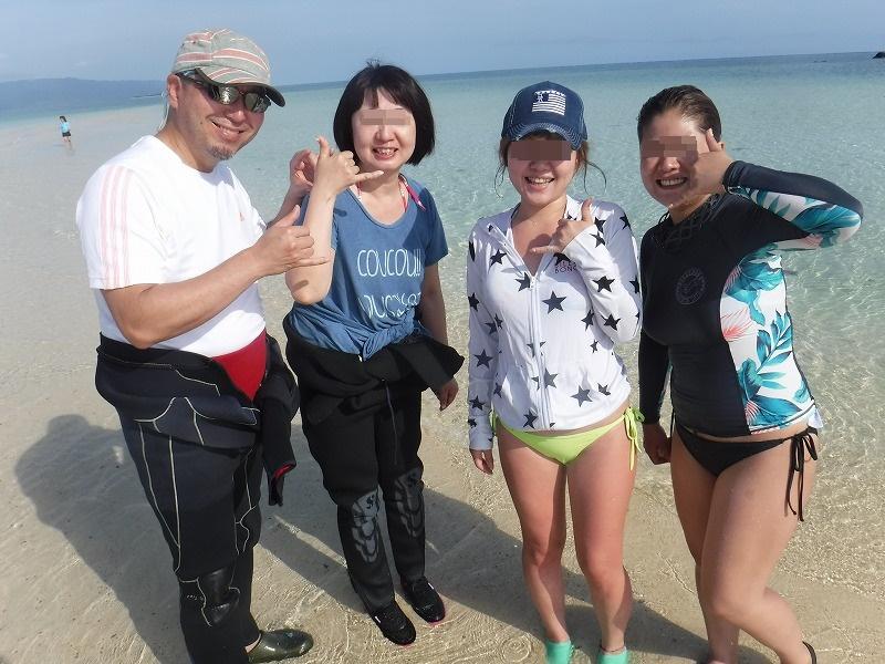 石垣島マンタシュノーケルおすすめショップ|ソライロ・マリンで幻の島に上陸5