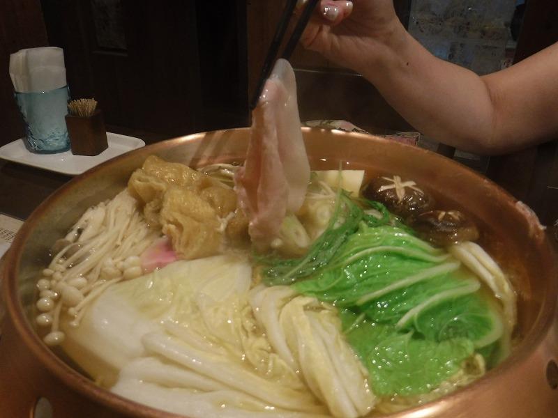 アグーしゃぶしゃぶ みるく実食6
