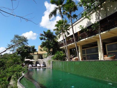 バリ島ウブドおすすめホテル|コマネカアットタンガユダから見えるジャングルの景色_5