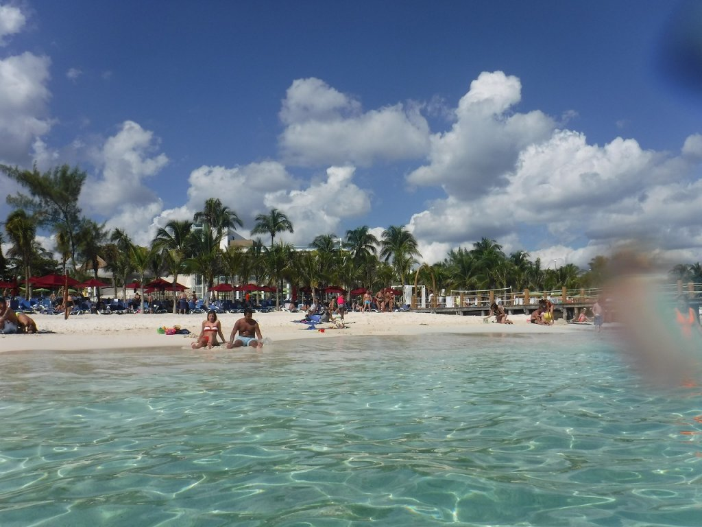 Azul Beach Resort The Fives Playa Del Carmenのビーチ5