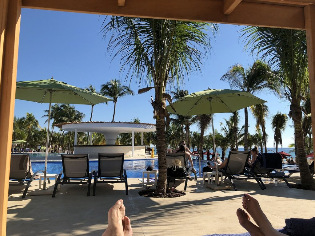 Azul Beach Resort The Fives Playa Del Carmenのメインプール3