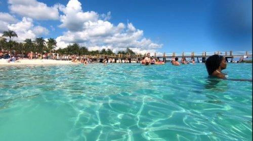Azul Beach Resort The Fives Playa Del Carmenのビーチ4