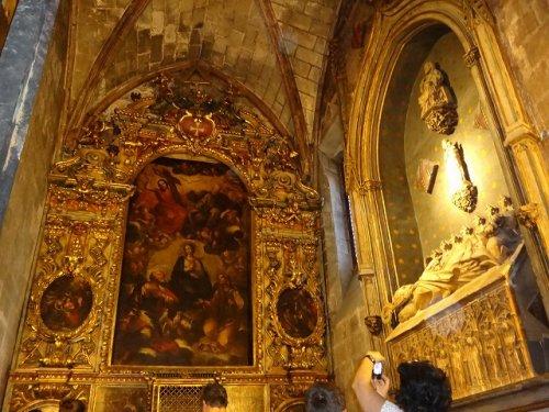 バルセロナカテドラル_内部の宗教画