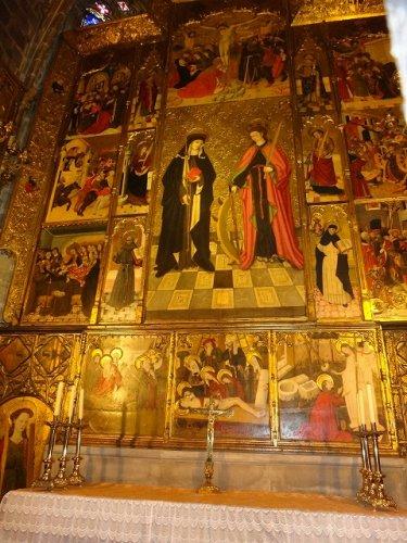 バルセロナカテドラル_内部の宗教画2