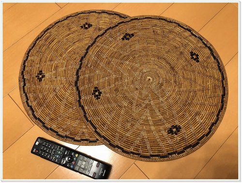 バリ島お土産でアタ雑貨を買うなら絶対にバリハンディ!実際に購入した大型ランチョンシート