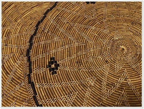 バリ島お土産でアタ雑貨を買うなら絶対にバリハンディ!実際に購入した大型ランチョンシート編み目拡大