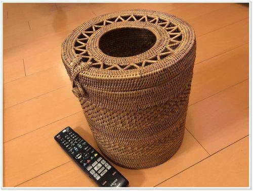 バリ島お土産でアタ雑貨を買うなら絶対にバリハンディ!実際に購入したクズカゴ