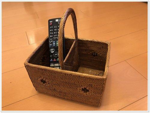 バリ島お土産でアタ雑貨を買うなら絶対にバリハンディ!実際に購入した小物を入れるカゴ
