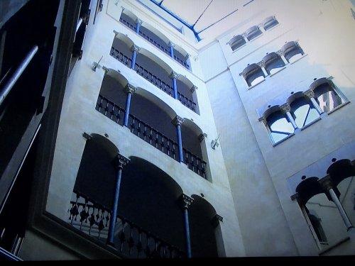 コンデス デ バルセロナ新館のパティオ面
