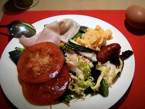 コンデス デ バルセロナ朝食_とある日のメニュー