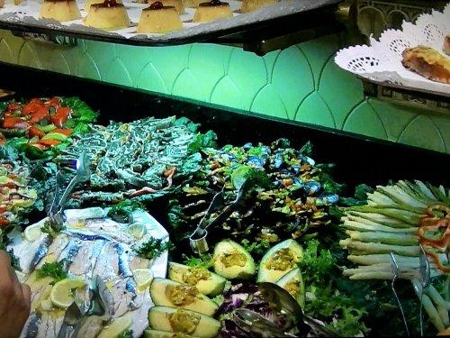 スペイン・バルセロナのタブラオ エル・コルドベス夕食ブッフェ
