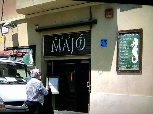 バルセロナ港近くのレストラン_カン・マジョ外観
