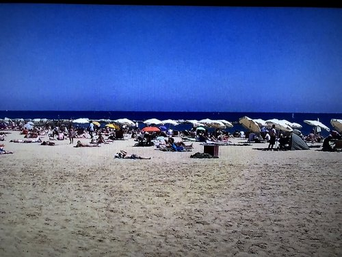 バルセロナのビーチ バルセロネータ2