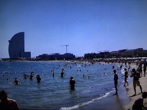 バルセロナのビーチ バルセロネータ