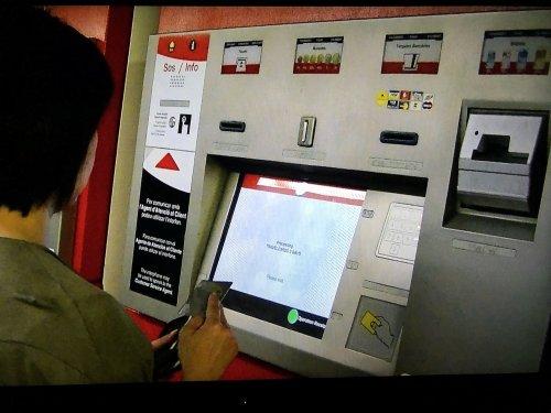 バルセロナ地下鉄5号線メトロディアゴナルDiagonal駅チケット券売機