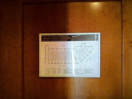 コンデス デ バルセロナ新館客室_フロア平面図