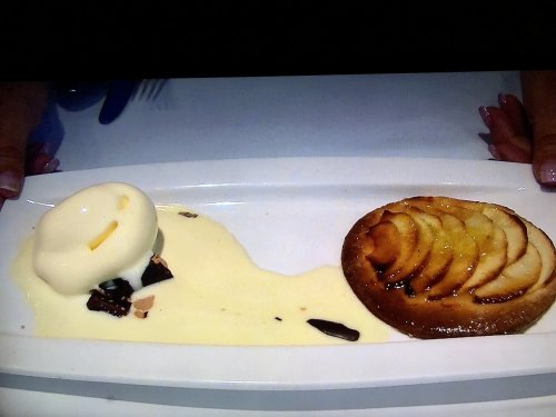 カン マジョでオーダー_アイスとアップルパイ