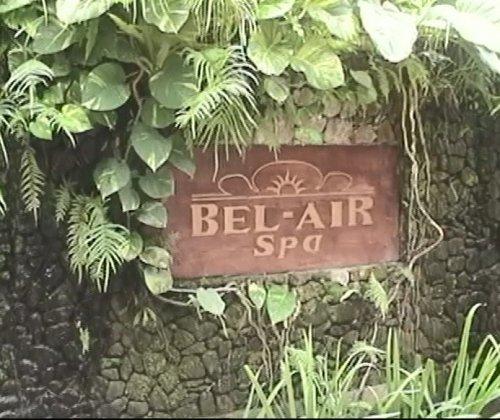 バリ島スパ|カップルおすすめ!ベルエアースパ_入り口ロゴ写真