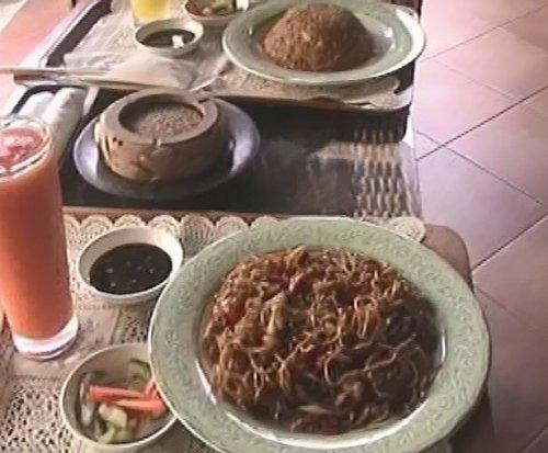 バリ島スパ|カップルおすすめ!ベルエアースパ_スパヴィラでの昼食