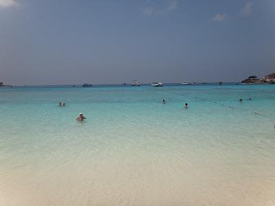シミラン諸島ツアーNo.8シミラン島_砂浜